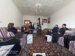 Gülşehir'de Şehit Ailesi Unutulmadı Ziyaret edildi