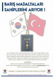 Gazi ve Şehitlerin ailelerine Barış Madalyaları verilecek
