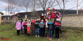 Güroymak'ta Çanakkale ve Karabağ Şehitleri anısına fidan dikildi