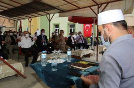 Hakkari'de Şehit polisler için mevlit okutuldu