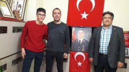 Haluk Levent Şehit Ailesini Ziyaret etti