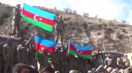 Hedefe doğru Madagiz'e Azerbaycan Bayrağını dikildi(Video)
