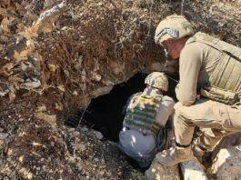 Herekol Dağı'nda PKK ya ait silah ve mühimmat ele geçirildi