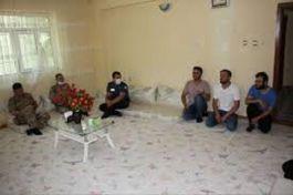 Hizan Kaymakamı Şehit ailelerini ziyaret etti