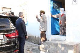 Hizan Kaymakamından Şehit ailesine ziyaret