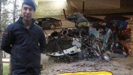 İki günlük Askerler Konya'da kazada vefat etti