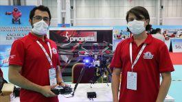 İki kardeş, mayını havadan imha edecek drone yaptı
