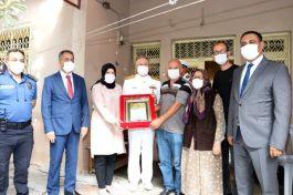 İki Şehit Ailesine Şahadet Belgeleri verildi
