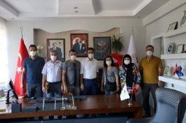 İl Müdürü Şehit yakınları ve Gazileri ziyaret  etti