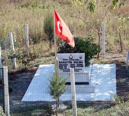 İl Özel İdaresi Şehit mezarları onarım bakımını yaptı