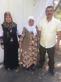 İlk Polis Özel harekat şehidinin Anne ve Eşine ziyaret