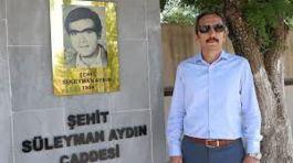 İlk Terör Şehidi Şehit Süleyman Aydın'ı unutmuyorlar