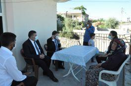 İmamoğlu Şehit ve Gazi ailelerine ziyaret etti