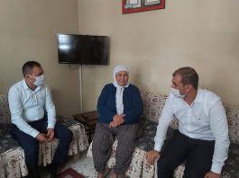 İmamoğlu'nda Şehit Ailelerine ziyaretler