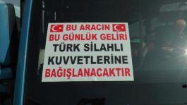 İstanbul-İzmit arısında Mehmetçiğe duygulandıran destek