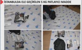 İstanbul otogarında 5 kilo patlayıcı ile 2 terörist yakalandı
