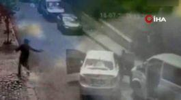 İstanbul'da Polis aracına silahlı Saldırı 1 Polis Şehit oldu