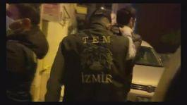 İzmir de pkk mlkp tkp operasyonu 48 şüpheli gözaltına alındı