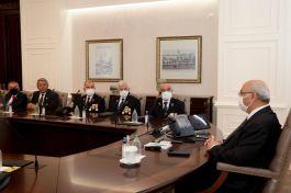 Şehit aileleri ve gazi dernekleri Vali ve Büyükşehir Belediye Başkanını ziyaret etti