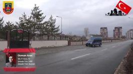 Jandarma ekipleri şehitler için özel klip hazırladı(video)
