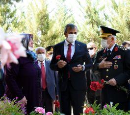 Jandarma Genel Komutanı Kırıkkale'de Şehitliği ziyaret etti