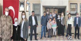 Jandarma Komutanından Şehit annesine ziyaret