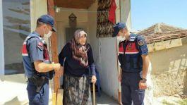 Jandarmadan Şehit aileleri, Gaziler ve yaşlılara ziyaretler