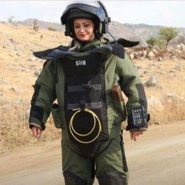 Kadın Askerimiz Şehit Oldu