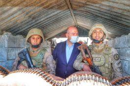 Kahramanlarımız teröristleri canından bezdiriyor açıklaması yaptı