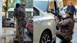 Kahramanmaraş'ta bir otel önünde çatışma 2 polis yaralandı
