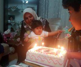Kahramanmaraş'ta şehit polisin bir yaşındaki kızına doğum günü sürprizi