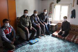 Kapımız Şehit aileleri ve gazilerimize 24 saat açıktır dedi