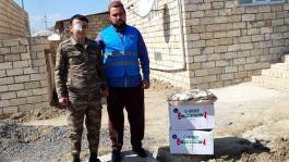Karabağ'da Şehit ailelerini ve Gazileri ziyaret ettiler