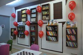 Karabük'te Şehit adı verilen Kütüphanelerin açılışı yapıldı
