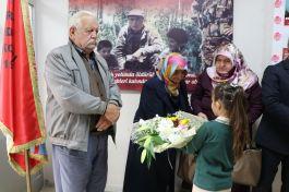 Karabük'te şehit ailesini duygulandıran açılış