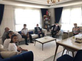 Karaman Valisi Şehit Ailesini ziyaret etti