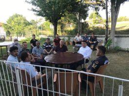 Kavak Kaymakamı  Gaziler ile Şehit aileleriyle bayramlaştı