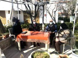 Kaymakam Burhaniye'de Şehit ailesini ziyaret etti