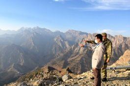 Kaymakam Dağlıca bölgesinde bulunan üs bölgelerini ziyaret etti