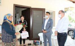 Kaymakam dan 103 yaşındaki şehit annesine ziyaret