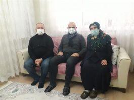 Kaymakam Gazi ve Şehit Ailelerine Ziyarette Bulundu