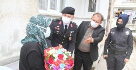 Kaymakam Gaziler ve Şehit aileleriyle bayramlaştı