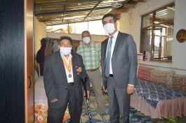 Kaymakam Şehit Aileleri ve Gazileri ziyaret etti