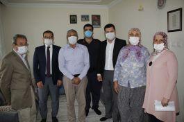 Kaymakam Şehit babaları ve Gazileri ziyaret etti