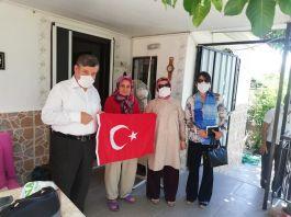 Kaymakam'dan Şehit Ailesi ve Gazilere Bayram Ziyareti