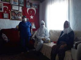 Kaymakamlık Şehit Ailelerini ziyaret edip ihtiyaçlarını karşılıyor