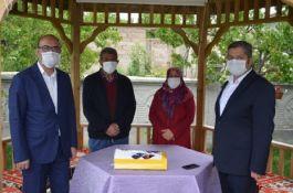 Kayseri Bünyan'da Şehit ailelerine bayram ziyareti
