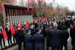 Kayseri'de Bombalı saldırıda Şehit olan 15 Asker anıldı