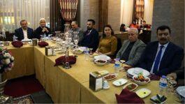 Kayseri'de şehit yakınları ve gaziler onuruna yemek verildi.