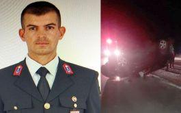 Kaza sonucu bir Askerimiz vefat etti